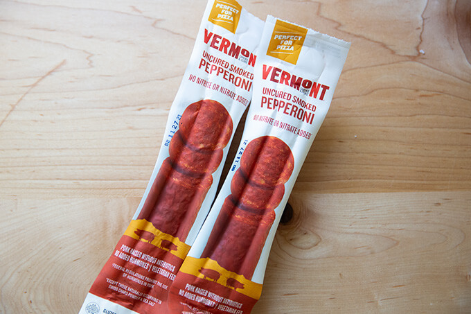 Vermont Smoke and Cure pepperoni.