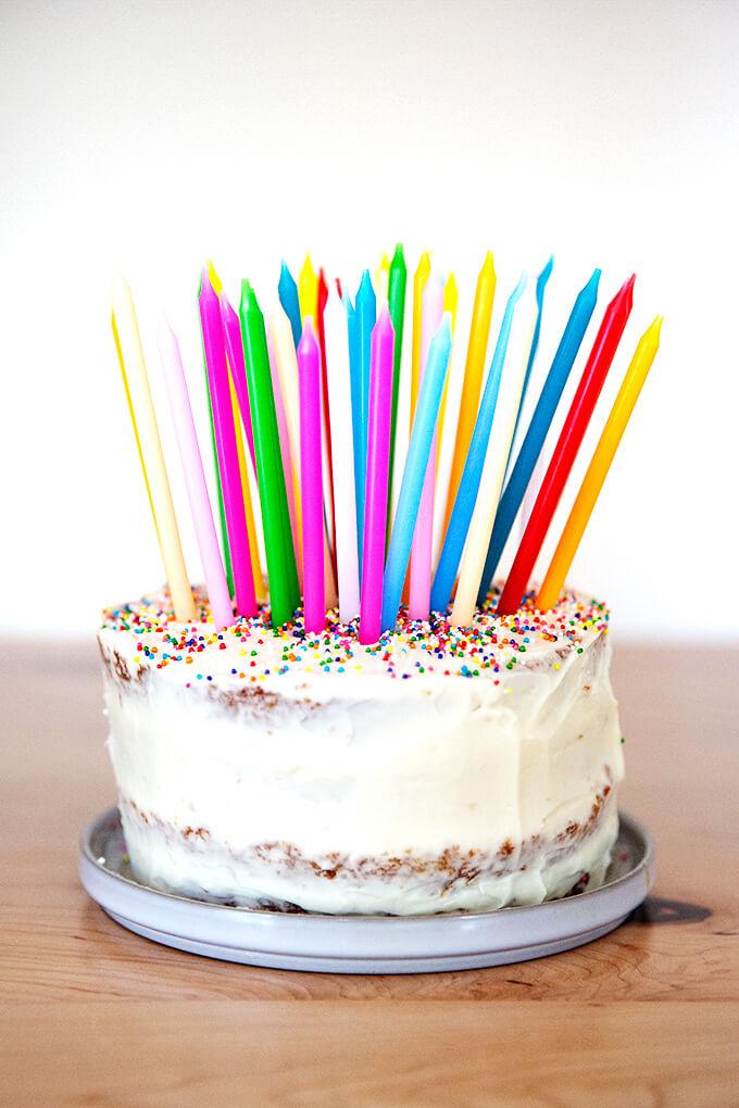 One-Bowl Birthday Cake
